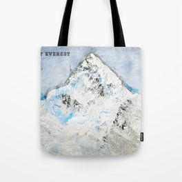 Mount Everest, Nepal Asia Tote Bag