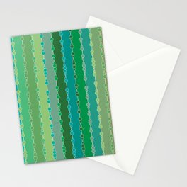 Multi-faceted decorative lines 6 Stationery Cards