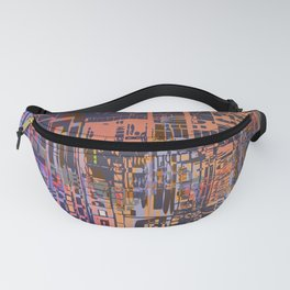 Where Are YOU -3 / Urban Density Fanny Pack