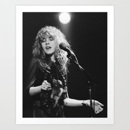 Stevie Nicks poster Art Print