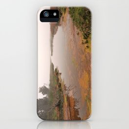 Misty Assateague Island Marsh iPhone Case