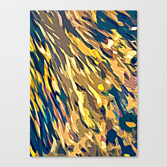 BOLD ABSTRACT Canvas Print