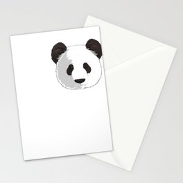 Love Giant Panda Bear Lover Stationery Cards