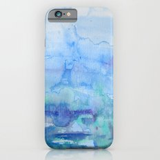 Watercolor Blue Slim Case iPhone 6s