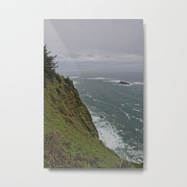 300 ft Above the Ocean Metal Print