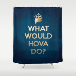 What Would Hova Do? - Jay-Z Shower Curtain