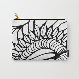 Shell of Abstract Carry-All Pouch