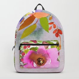 Flowers bouquet #50 Backpack