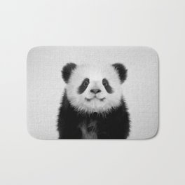 Panda Bear - Black & White Bath Mat