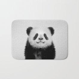Panda Bear - Black & White Bath Mat