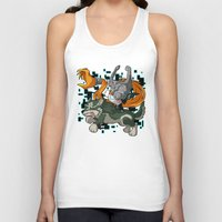 invader zim Tank Tops featuring Invader Midna by HelloTwinsies