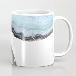 icy blue agate Coffee Mug