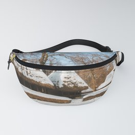 Season Greetings from a picturesque Romanian Village Fanny Pack