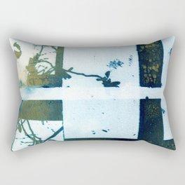 Botanical Divide Rectangular Pillow