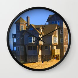 Rodanthe Nights Beach House Wall Clock