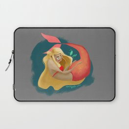 A Maid of La Mer  Laptop Sleeve
