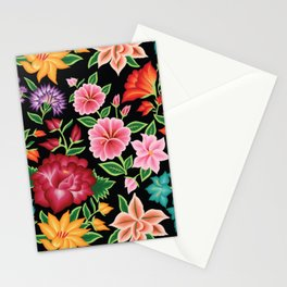 Floral Pattern from Oaxaca Stationery Cards