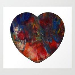 Passion Heart Art Print