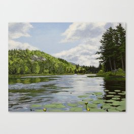 Secret Adirondack Pond Canvas Print