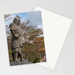 Po Lin Monastery, Lantau Island, Hong Kong Stationery Cards
