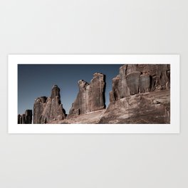 Court House Towers - Arches National Park, Utah Art Print