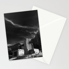 Monastery at Christ in the Desert Stationery Cards
