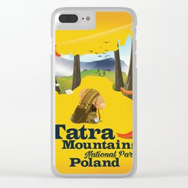 Tatra Mountains National Park Clear iPhone Case