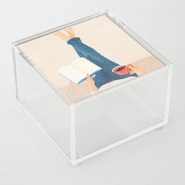 Morning Read Acrylic Box