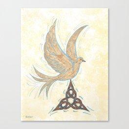 He Set Us Free Canvas Print