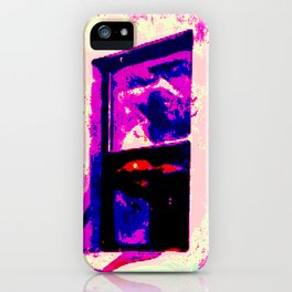 Curious to the Point of Destruction iPhone Case