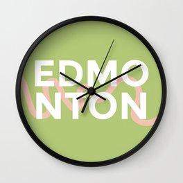 Edmonton, Canada Wall Clock