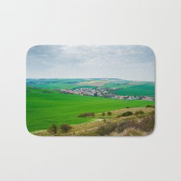 view from cap Blanc Nez Bath Mat
