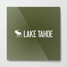 Lake Tahoe Moose Metal Print