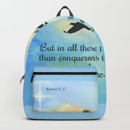 More Than Conquerors Backpack