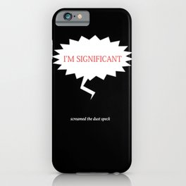significant ~ calvin & hobbs iPhone Case