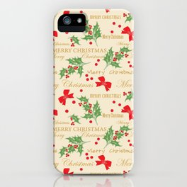 Christmas Time 8 iPhone Case