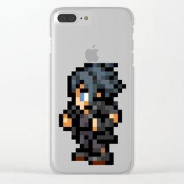 16-Bit Noctis Clear iPhone Case