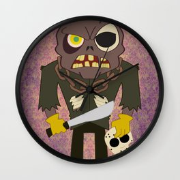 Jason Voorhees Wall Clock