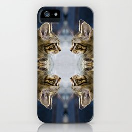 Cat (Series: 'Into the Vision') iPhone Case