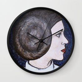Space Princess Wall Clock