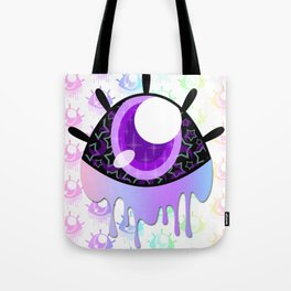 Melty Monster Eye Tote Bag