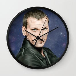 9th Doctor Who Wall Clock