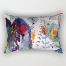 botanical whimsy Rectangular Pillow