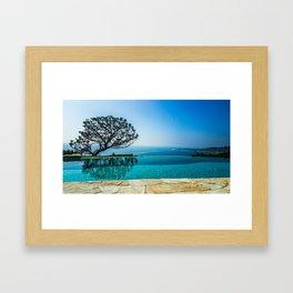 Paradise on the PCH Framed Art Print