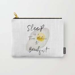 Breakfast / poster, art print, pictures, scandinavian, nursery, deco, saying, christmas, sarcasm, eg Carry-All Pouch