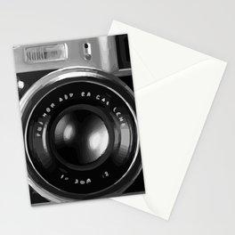 RETRO REFLEX CAMERA Stationery Cards