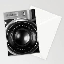 RETRO REFLEX CAMERA Stationery Cards