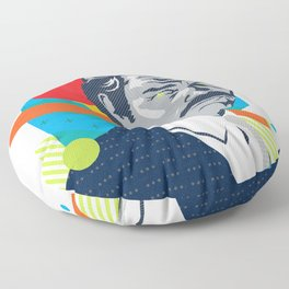 MARTY :: Memphis Design :: Miami Vice Series Floor Pillow