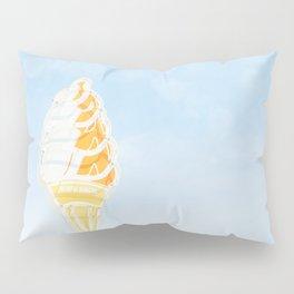 Vintage Ice Cream Sign Pillow Sham