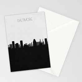 City Skylines: Baltimore Stationery Cards